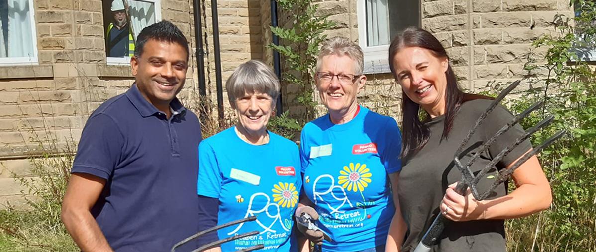 Volunteering for Reuben's Retreat